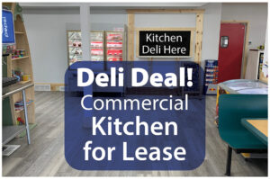 Deli Pizza Commercial Kitchen Lease or Rent